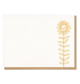 Frog & Toad Press Derpy Flower Flat Boxed Card Set of 8