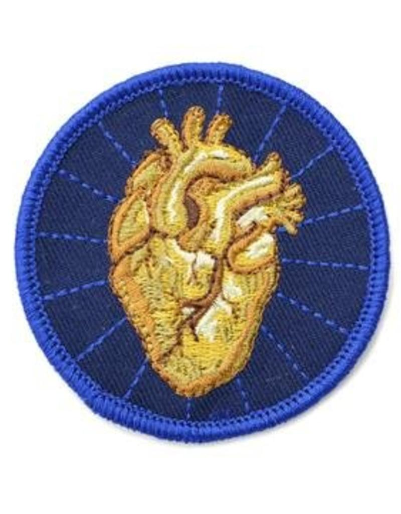 Frog & Toad Press Heart of Gold Patch
