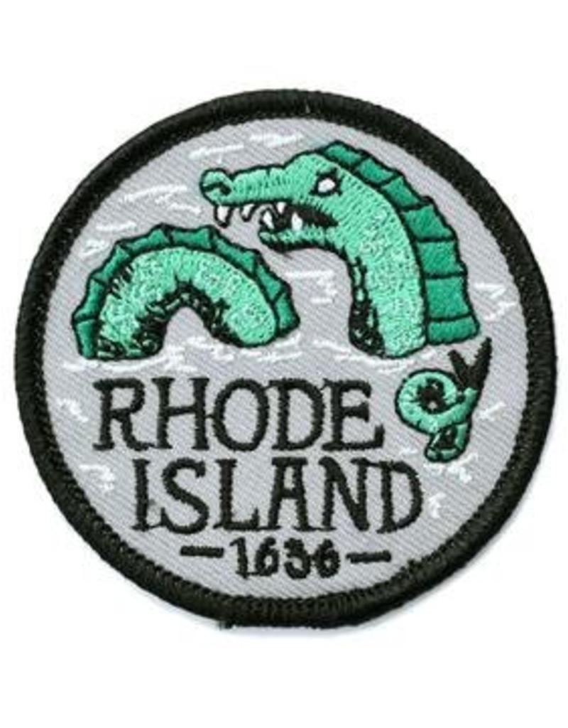 Frog & Toad Press Rhode Island Sea Serpent Patch