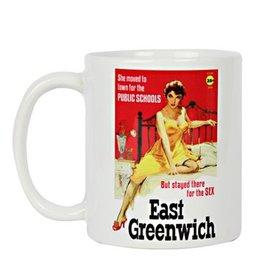Frog & Toad Design East Greenwich Pulp Fiction Mug