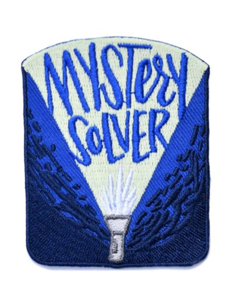 Frog & Toad Press Mystery Solver Patch (Glow in the dark!)