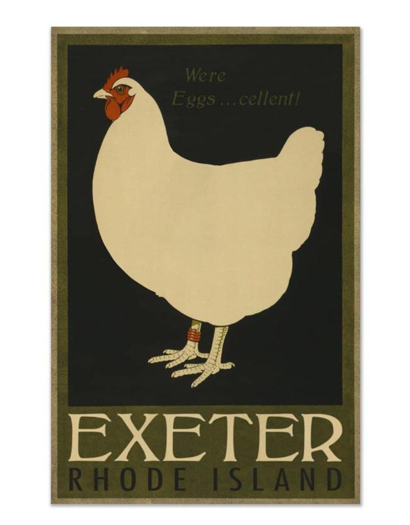 Frog & Toad Design Exeter, RI Print