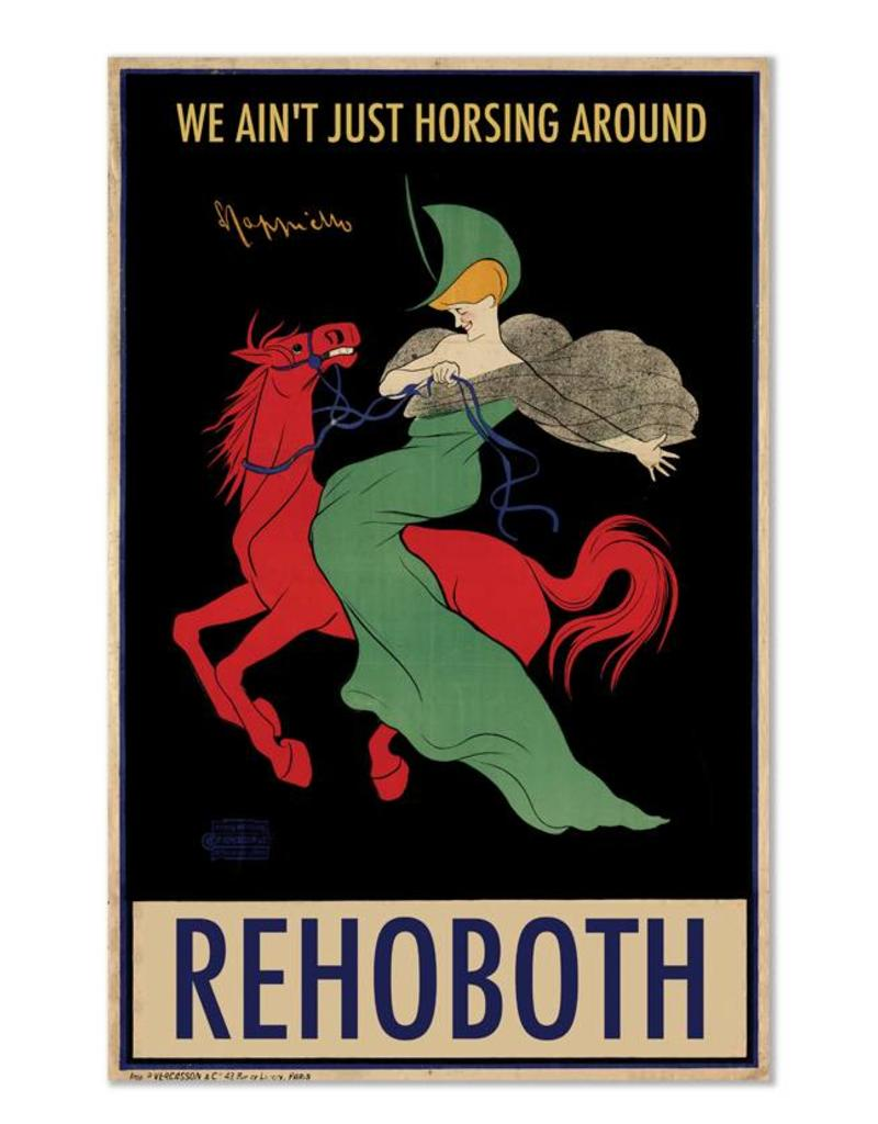 """Frog & Toad Design Rehoboth """"We Ain't Just Horsing Around"""" Print"""