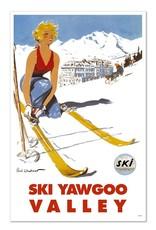 Frog & Toad Design Ski Yawgoo Valley Print