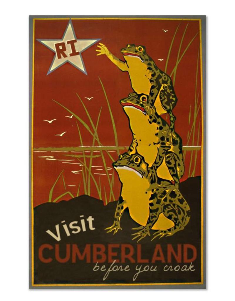 Frog & Toad Design Visit Cumberland Print