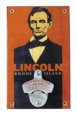 Frog & Toad Design Abe Lincoln Bottle Opener