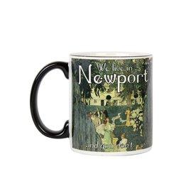 Frog & Toad Design We Live in Newport Mug