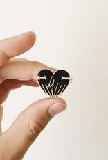 Paper Shuttle Eternal Lovers Enamel Pin