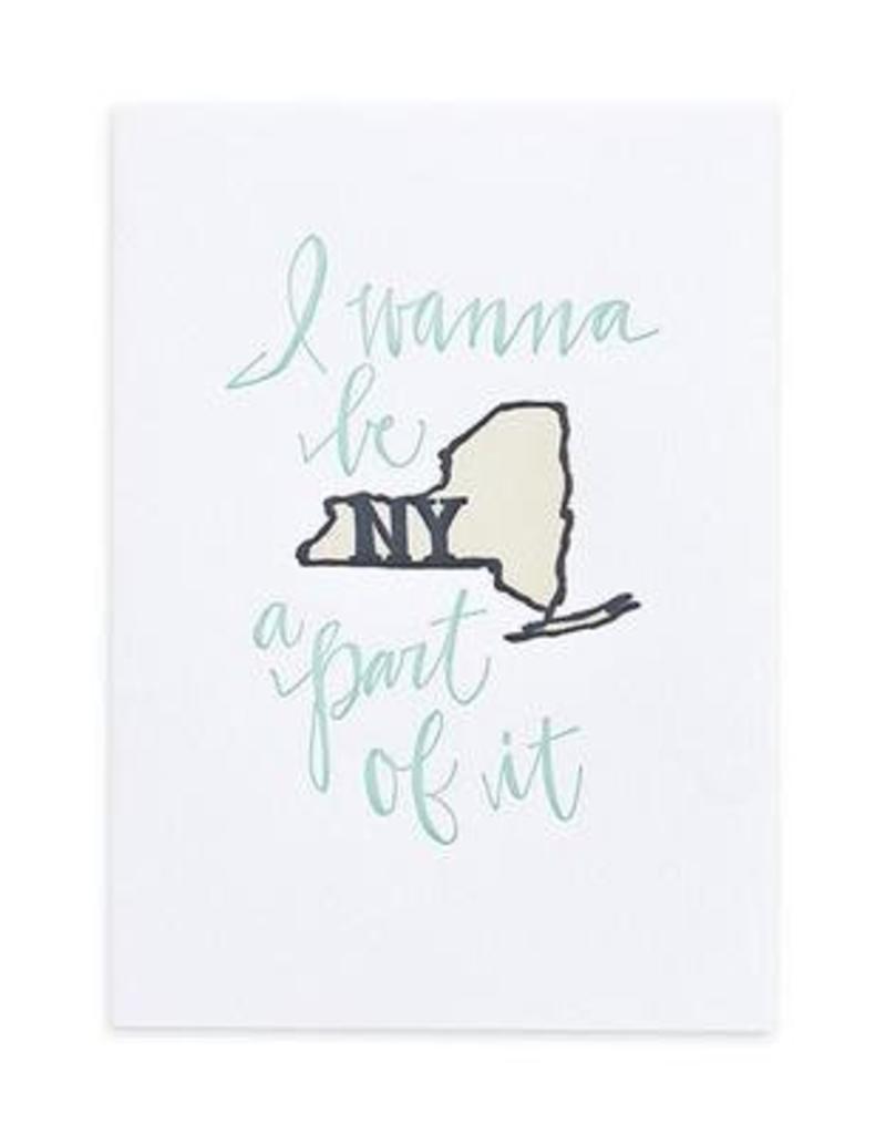1Canoe2 Letterpress New York Letterpress Print