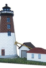 My Little Town Point Judith Lighthouse Ornament