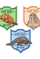 Frog & Toad Press Weird Animals Patch Set of 3