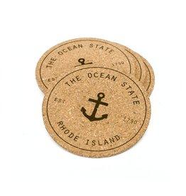 Sarah Tomasso Ocean State Coaster Set