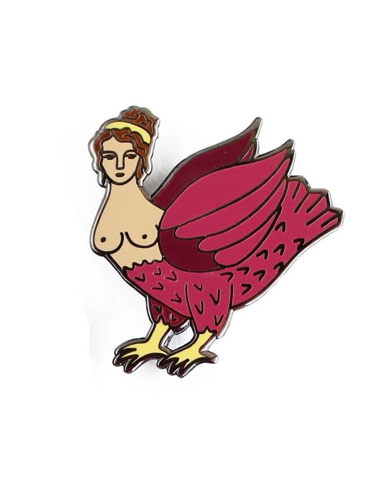 Shiny Apple Studio Harpy Enamel Pin