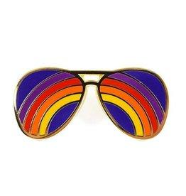 Valley Cruise Rainbow Shades Enamel Pin