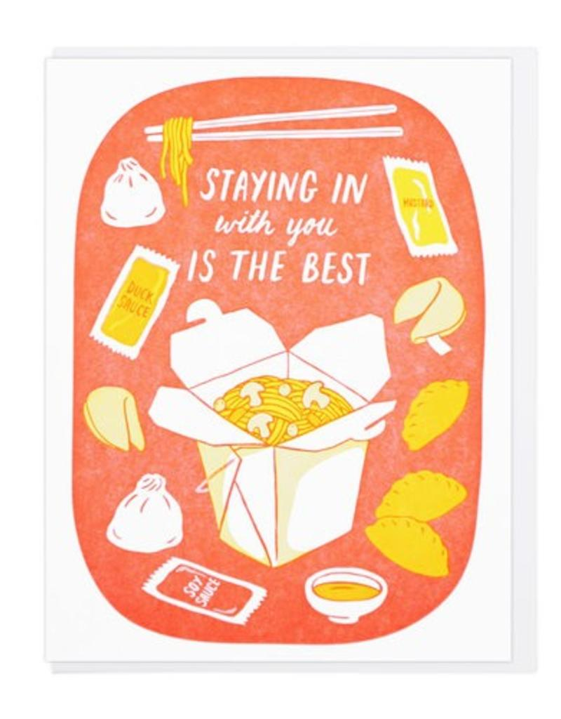 Lucky Horse Press Staying In with You is the Best Greeting Card