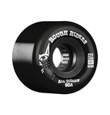 Rough Riders Black 59mm Skateboard Wheels