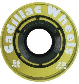 Cadillac Wheels Yellow 56mm