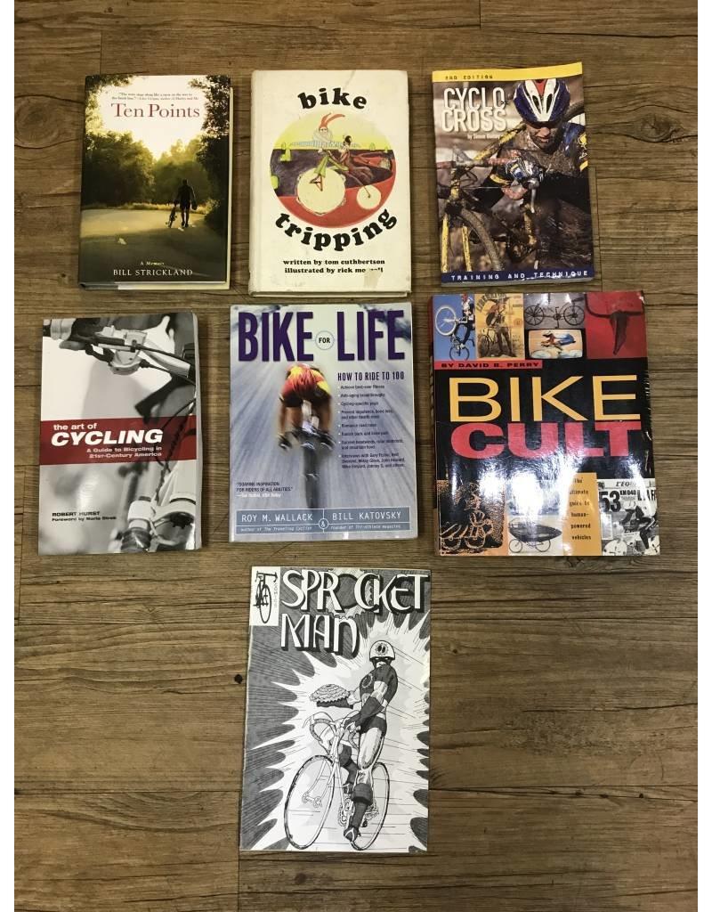 Assortment of Biking Books