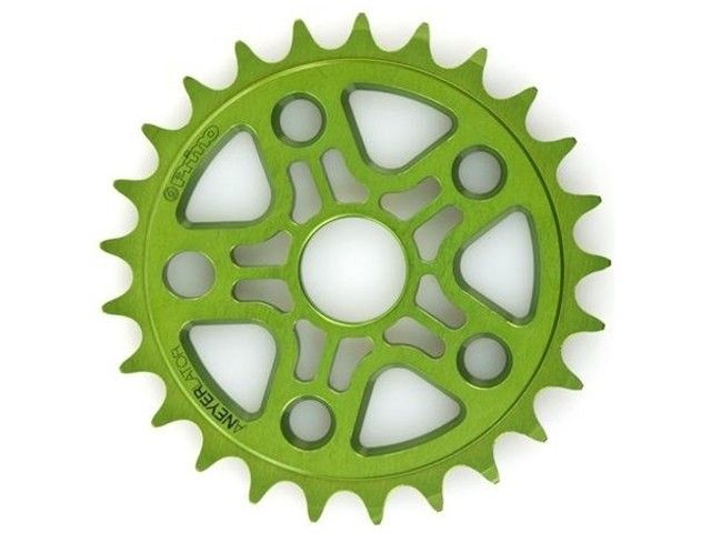 Primo Green Sprocket 25T + KMC Single Speed Chain Orange