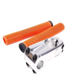 Cult Dehart Grips Orange + Stranger Haze FL Stem