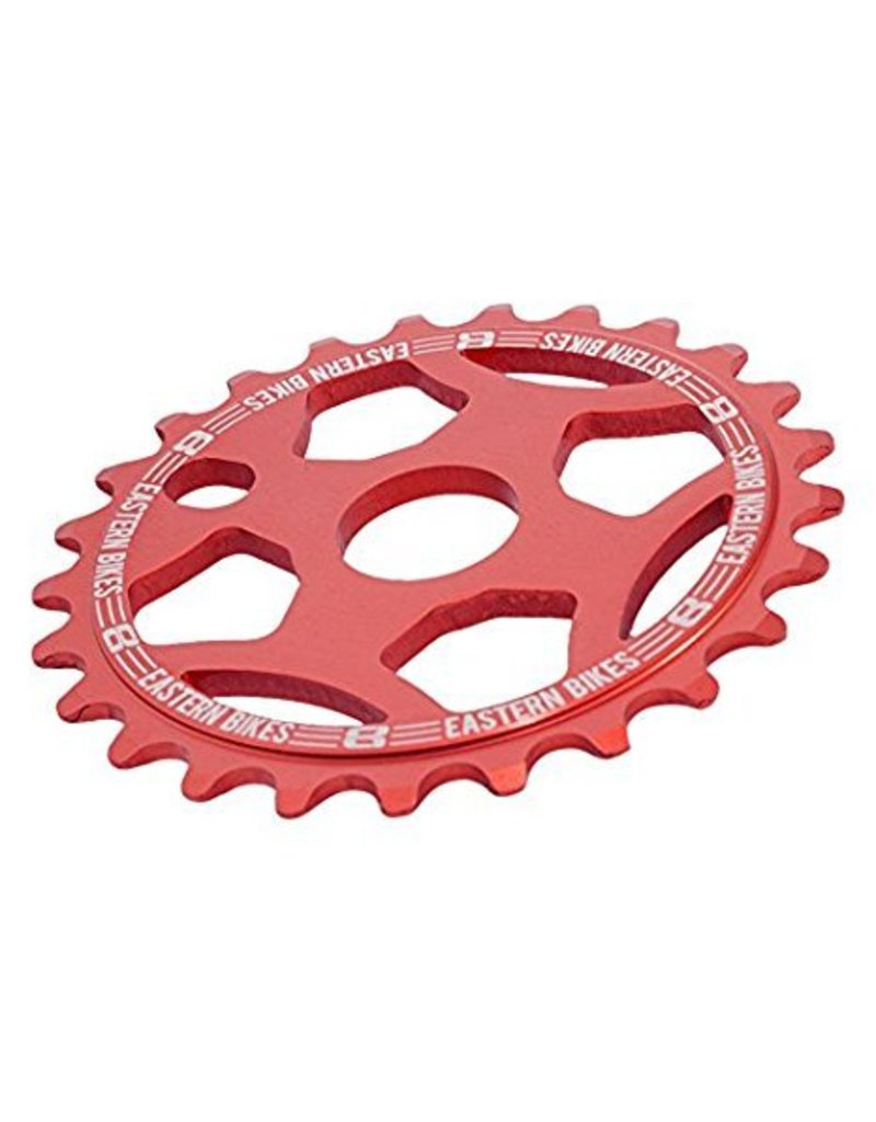Phorcy Sprocket 25T Red + KMC Z410 Chain Gold