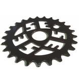 E Sprocket 25T Black + KMC Z410 Chain Gold