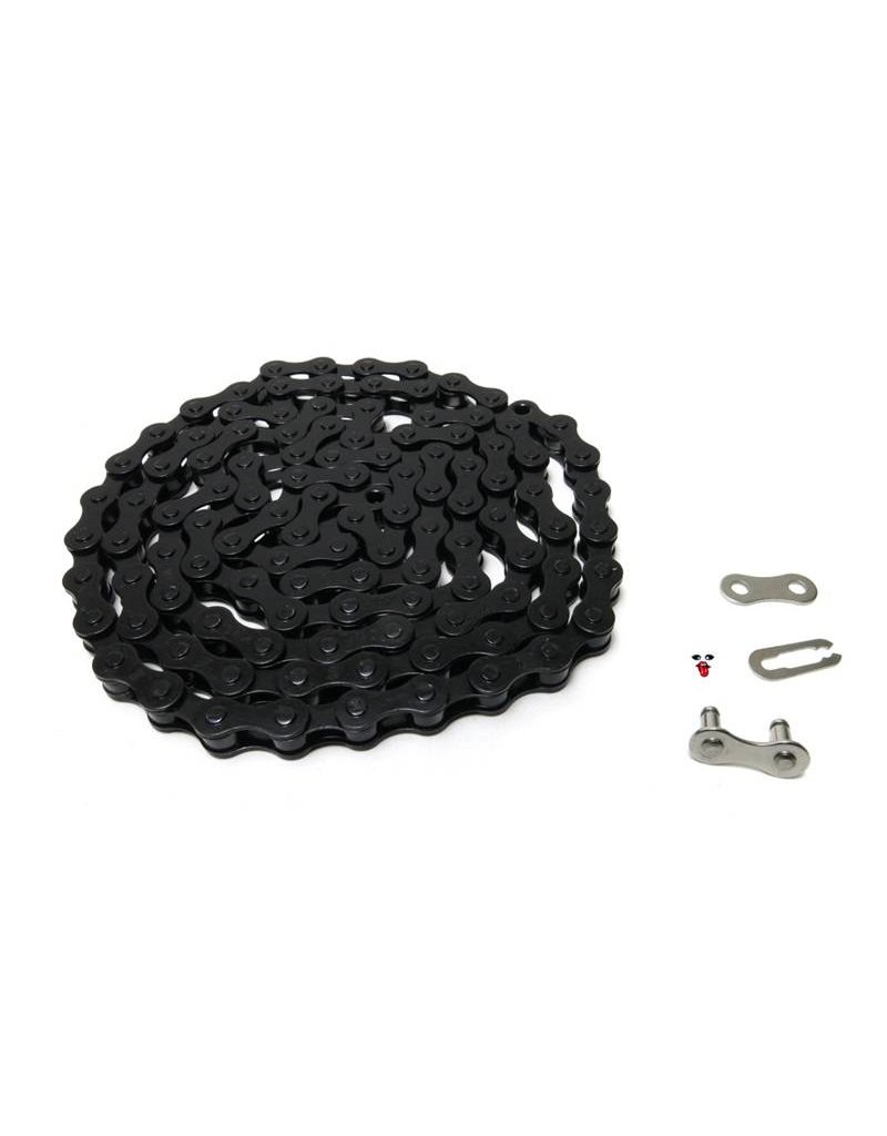 Phorcy Sprocket 25T Silver + KMC Z410 Chain Black