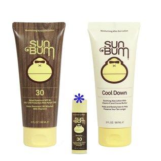 SunBum SPF30 kit UVA-UVB protection