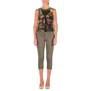 YogaJeans high-waist capri