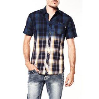 bauhaus mens plaid cotton shirt