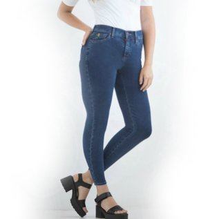 YogaJeans plus size ankle high-rise