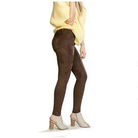 YogaJeans suede skinny