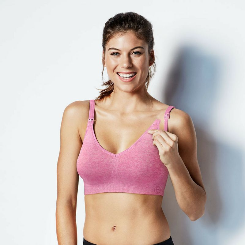 Bravado Body Silk Seamless Yoga Nursing & Pregnancy Bra