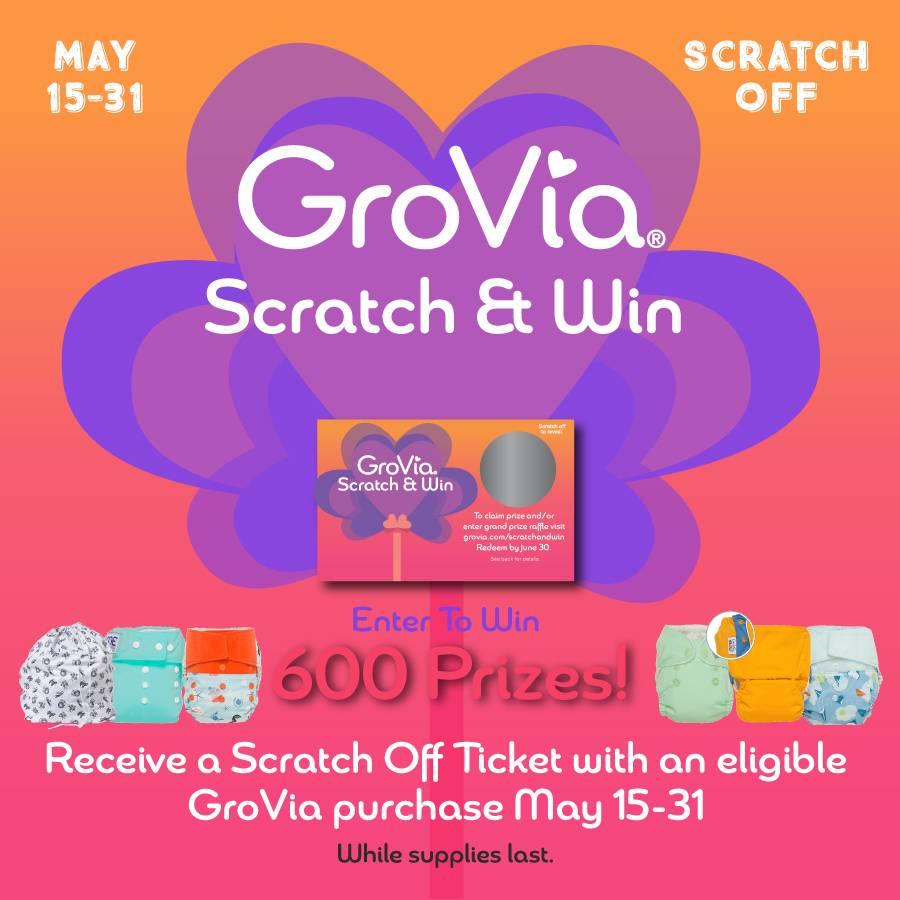 GroVia Scratch & Win Event