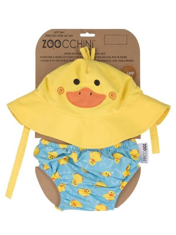 Zoocchini Zoocchini Swim Diaper & Hat Set