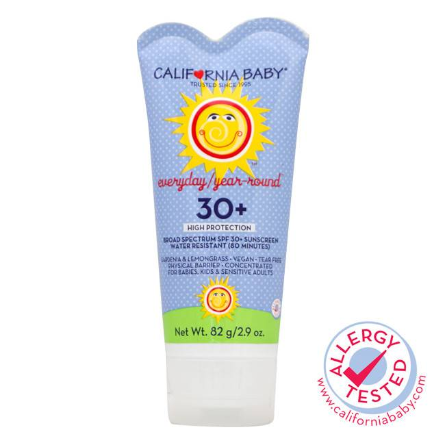 California Baby Everyday/Year-Round Broad Spectrum SPF 30+ Sunscreen