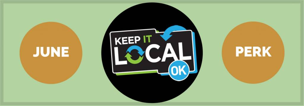 June Keep It Local perk