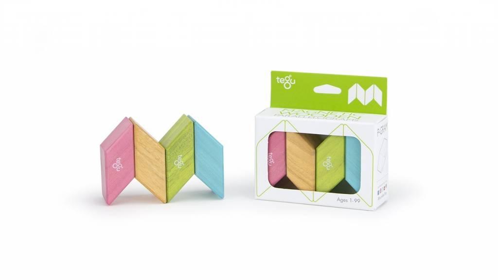 Tegu Parallelograms 4-Pack