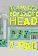 Jack N' Jill Jack N' Jill Buzzy Brush Replacement Heads 2-Pack