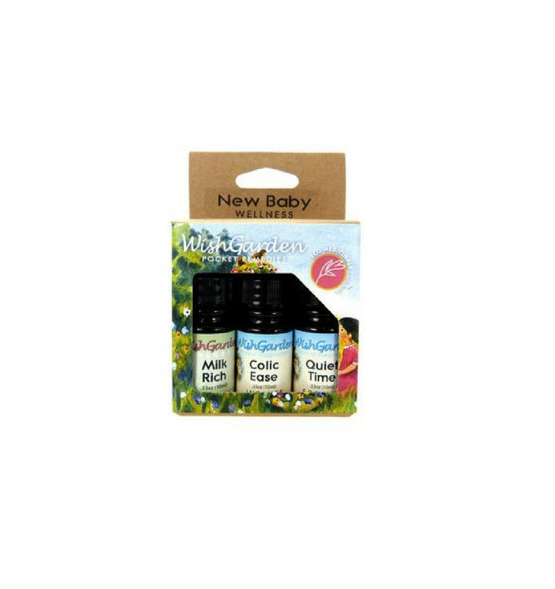 WishGarden Herbs New Baby Wellness Kit