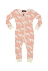 Milkbarn Organic Zippered Pajamas