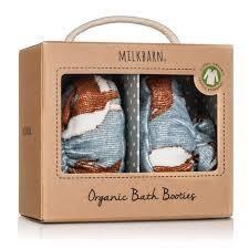 Milkbarn Organic Bath Booties