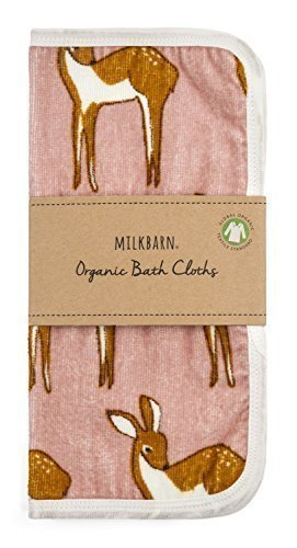 Milkbarn Organic Bath Cloth Set