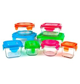 Wean Green Glass Storage Kitchen Set