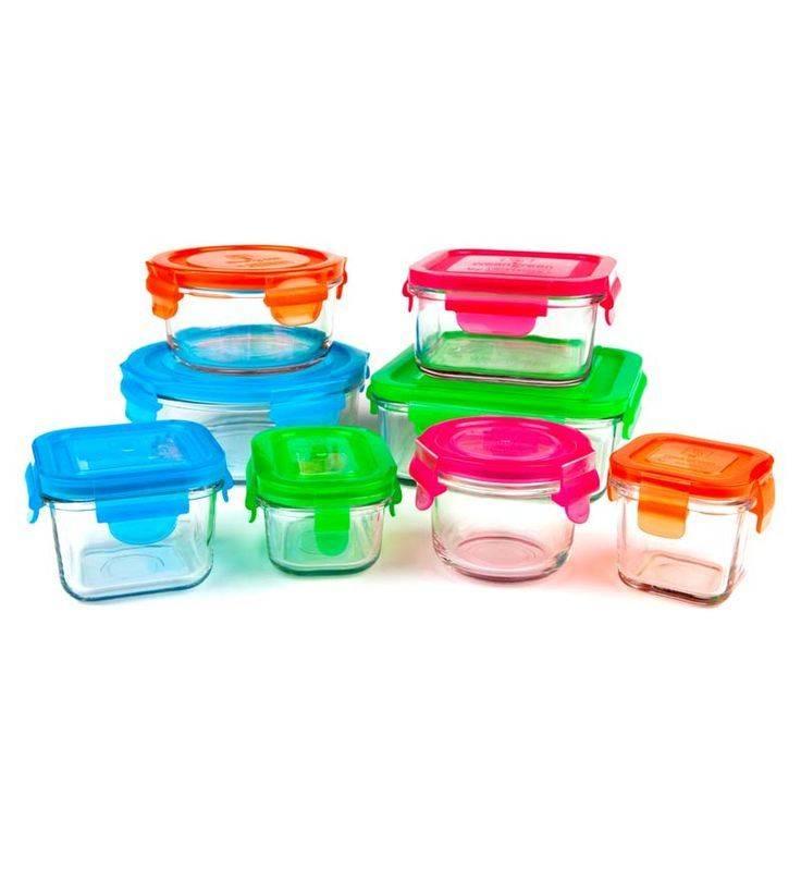 Wean Green Glass Storage Kitchen Set