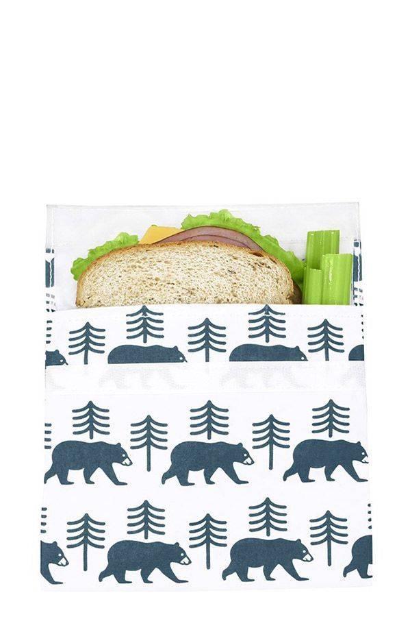 LunchSkins Lunchskins Velcro Reusable Sandwich Bag