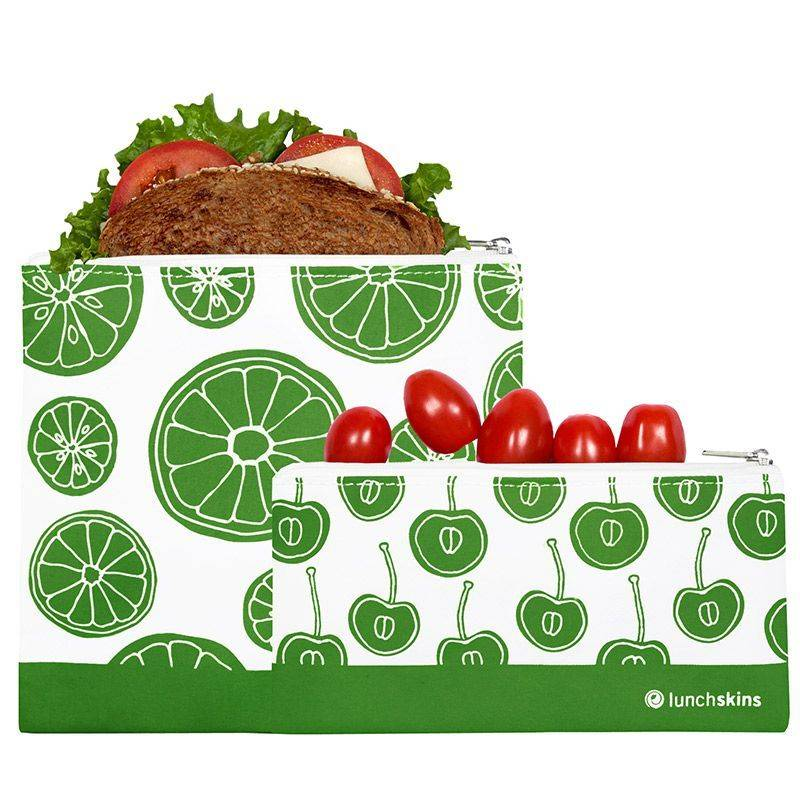 LunchSkins Lunchskins Zippered Reusable Bag Set