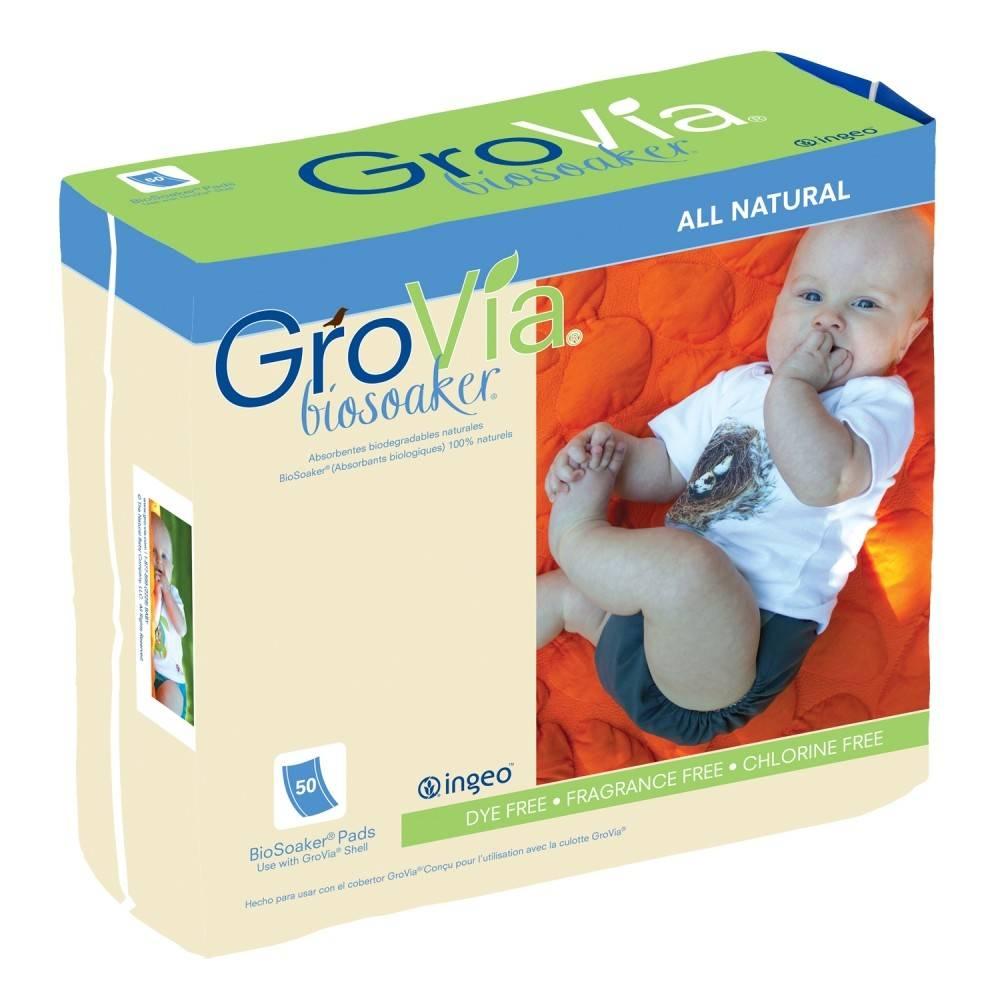 GroVia Bio Soaker 50-Count