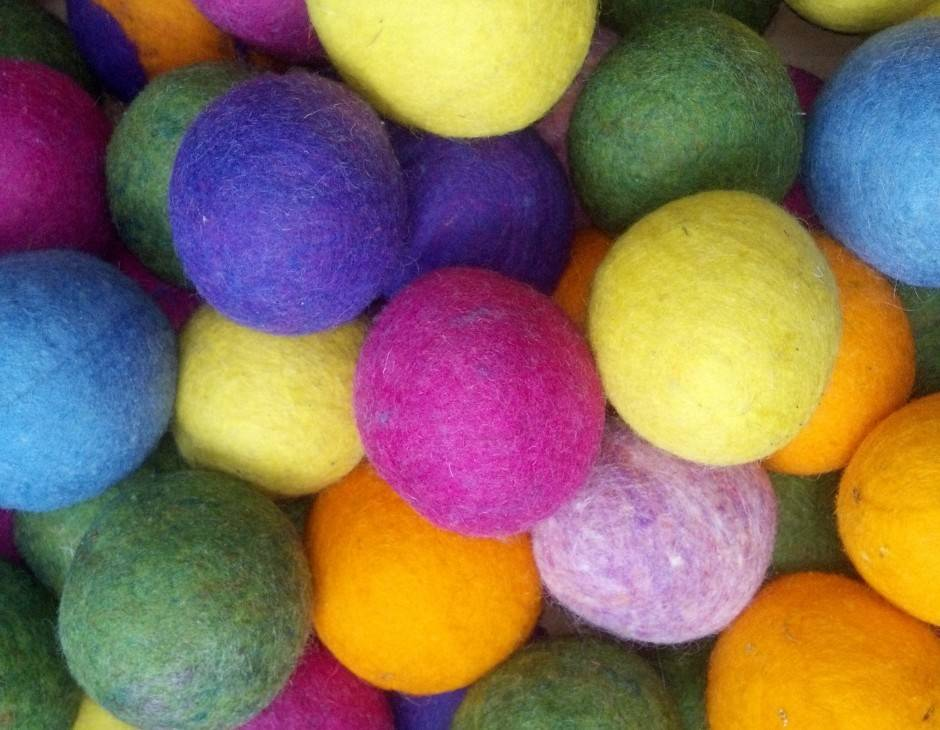100% Wool Dryer Balls