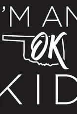 Oklahoma Shirt Company OK Kid Lapover Tee